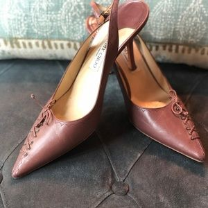 Jimmy Choo Fall Mauve Corset Heel 42